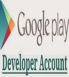 google play developer accounts