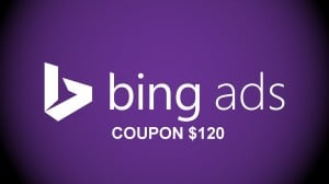 Bing Coupon $120