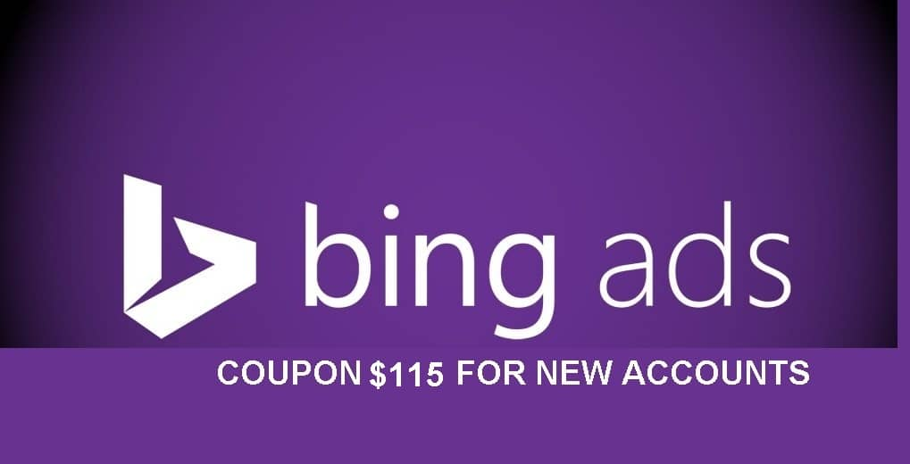 bing coupon $115